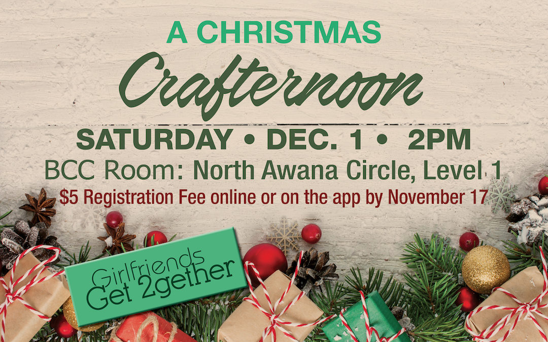 A Christmas Crafternoon – Women's Event