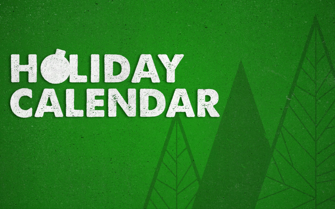 Holiday Calendar 2018