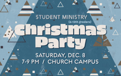 Student Ministry Christmas Party