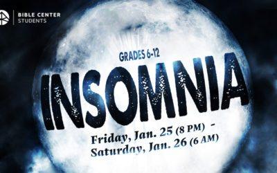 Insomnia (6th-12th)