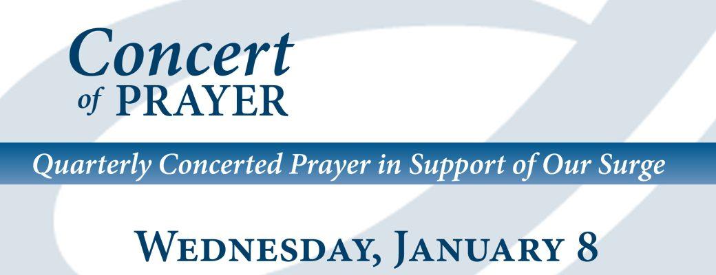 14 Concert of Prayer
