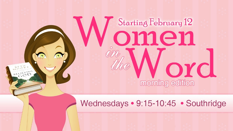 Women in the Word Bible Study