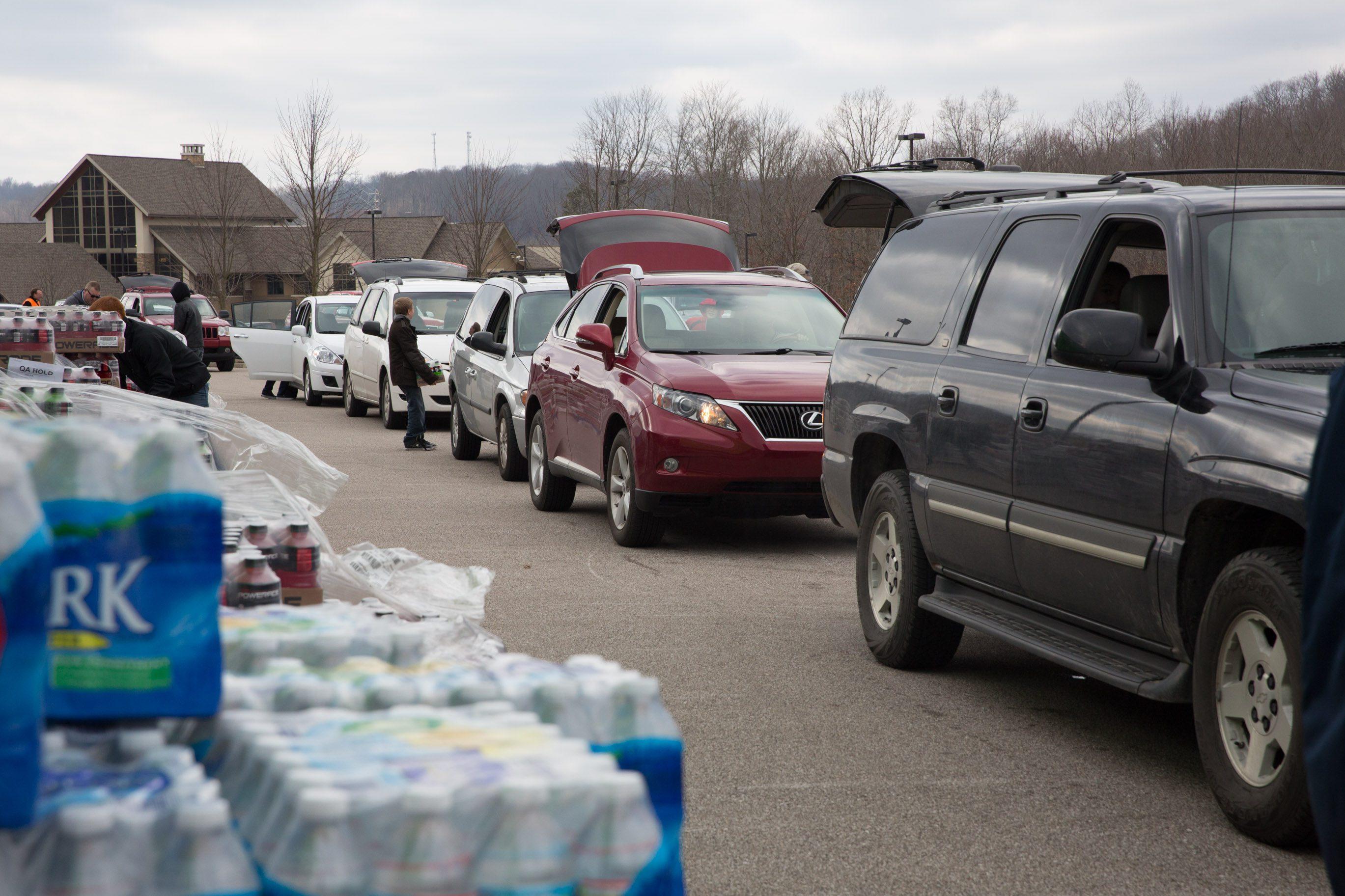 Water Contamination Relief Effort