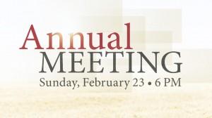 02-23-14 Annual Meeting