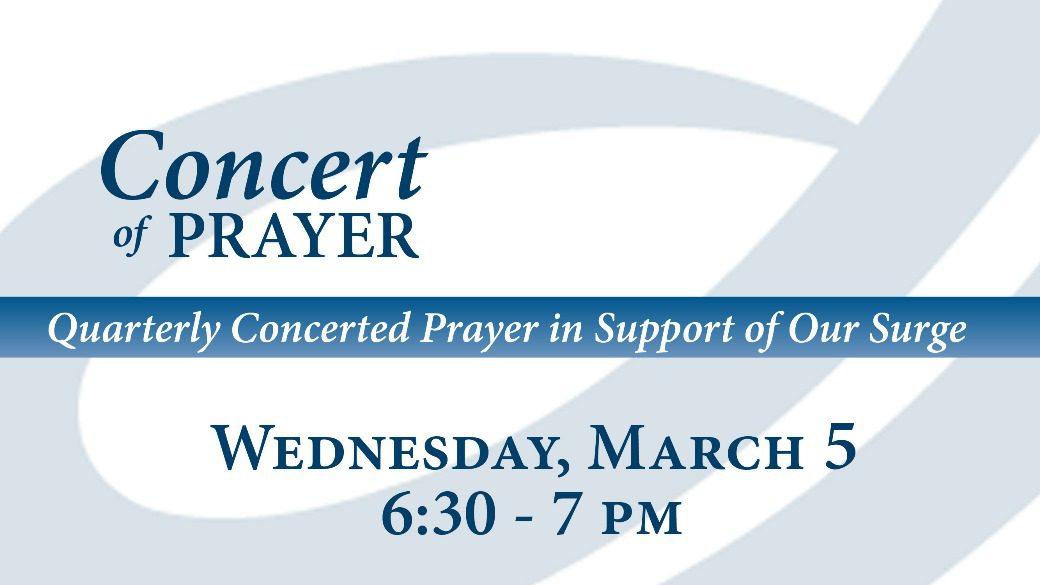 03-05-14 Concert of Prayer