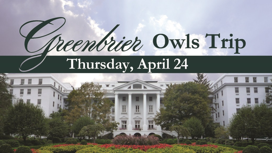 OWLS Greenbrier Trip (55+)