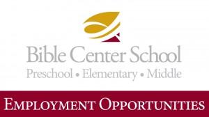 BCS Employment Opportunities