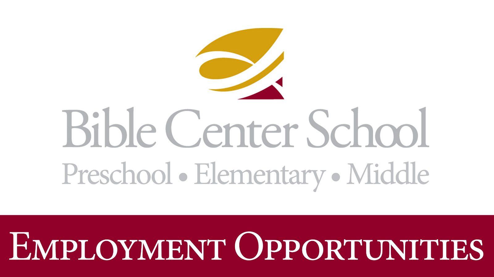 Teach at Bible Center School!
