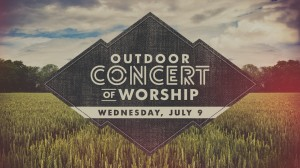 14 Outdoor Concert of Worship