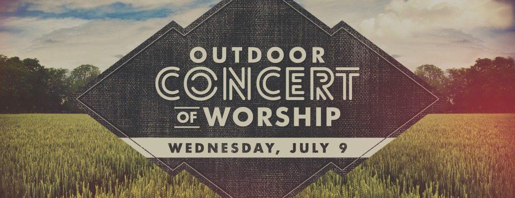 14 Outdoor Concert of Worship s