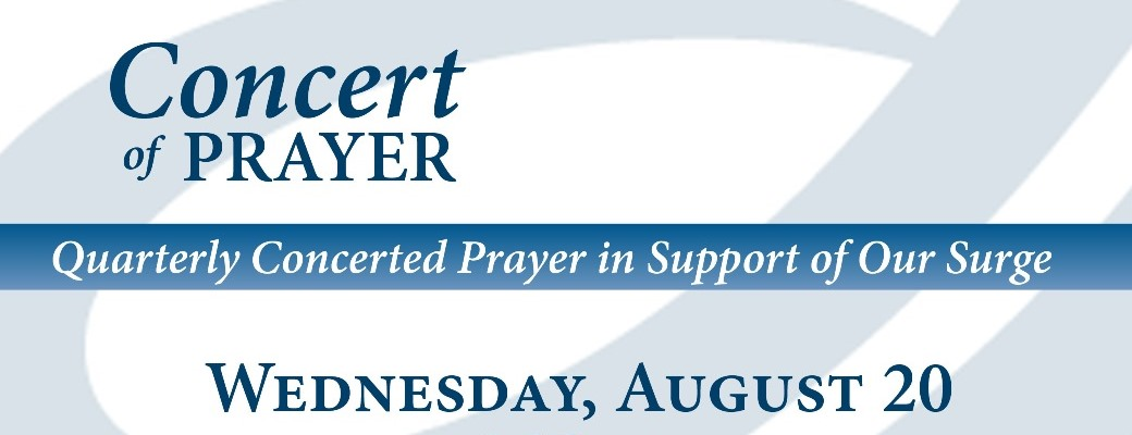 08-20-14 Concert of Prayer