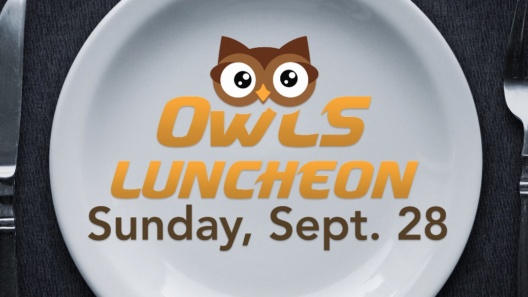 OWLS Fall Luncheon (55+)