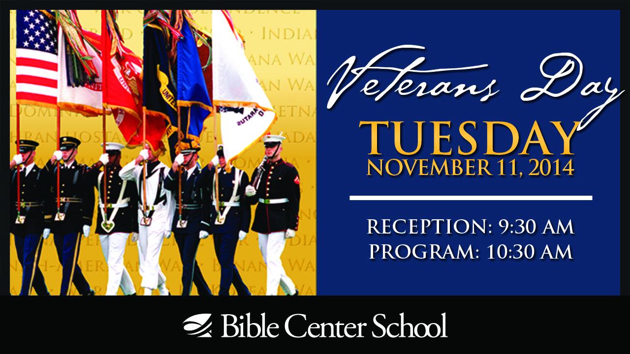 BCS Veterans Day Program