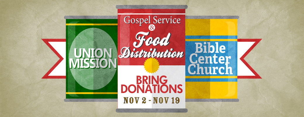 Thanksgiving Gospel Service & Food Distribution