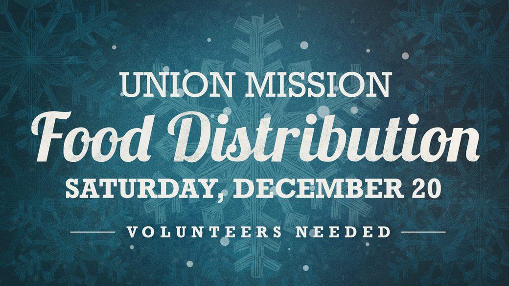 Christmas Gospel Service & Food Distribution