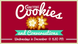 Christmas Cookies and Conversation