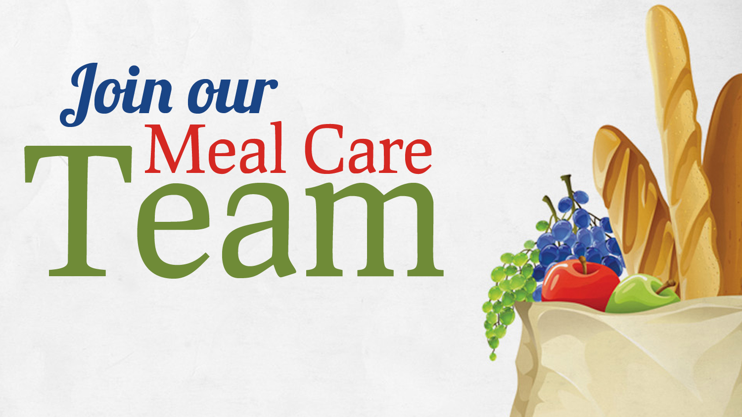 Join our Meal Care Team