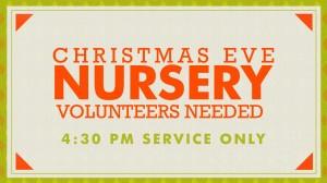 12-24-14 Christmas Eve Services Nursery