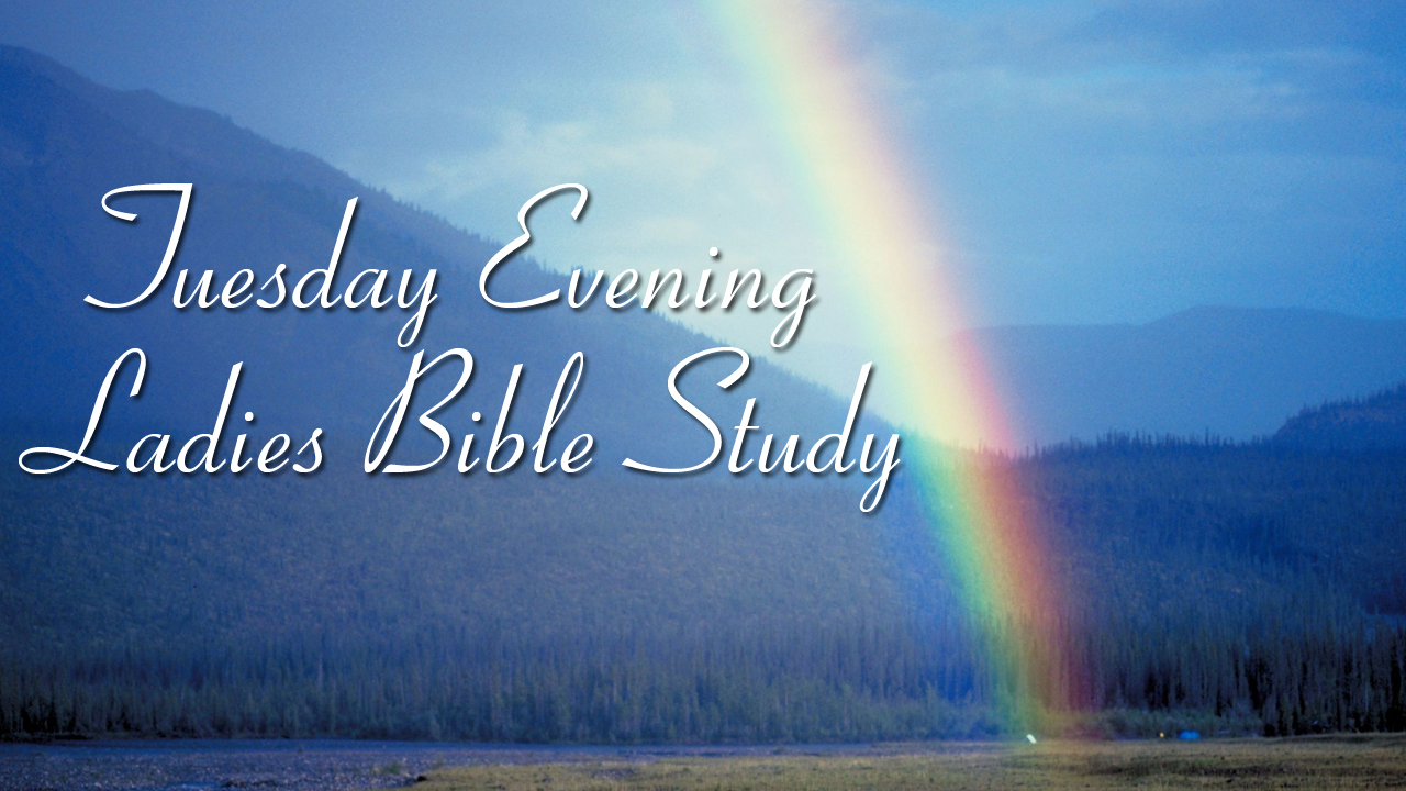 Tuesday Evening Ladies Bible Study