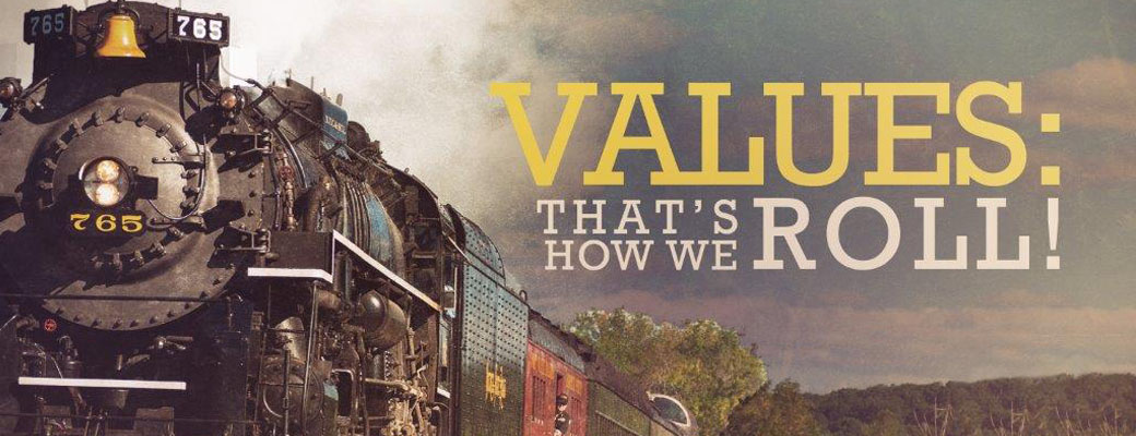 Values: That's How We Roll