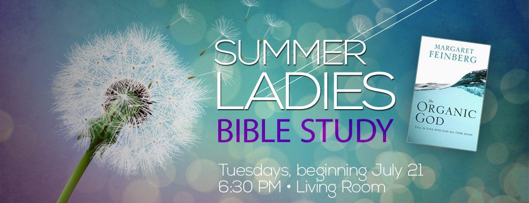 15 Summer Ladies Bible study