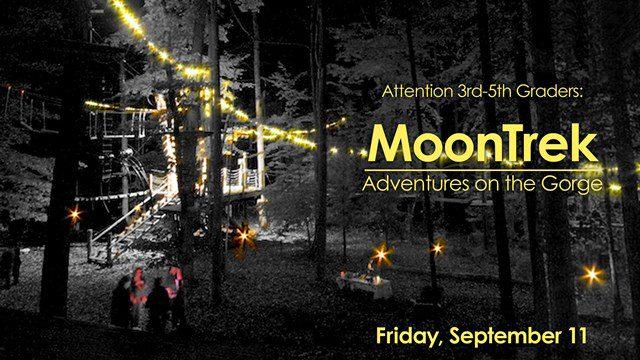 Moon Trek @ Adventures on the Gorge