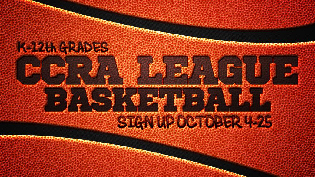 CCRA Basketball (K-12th)