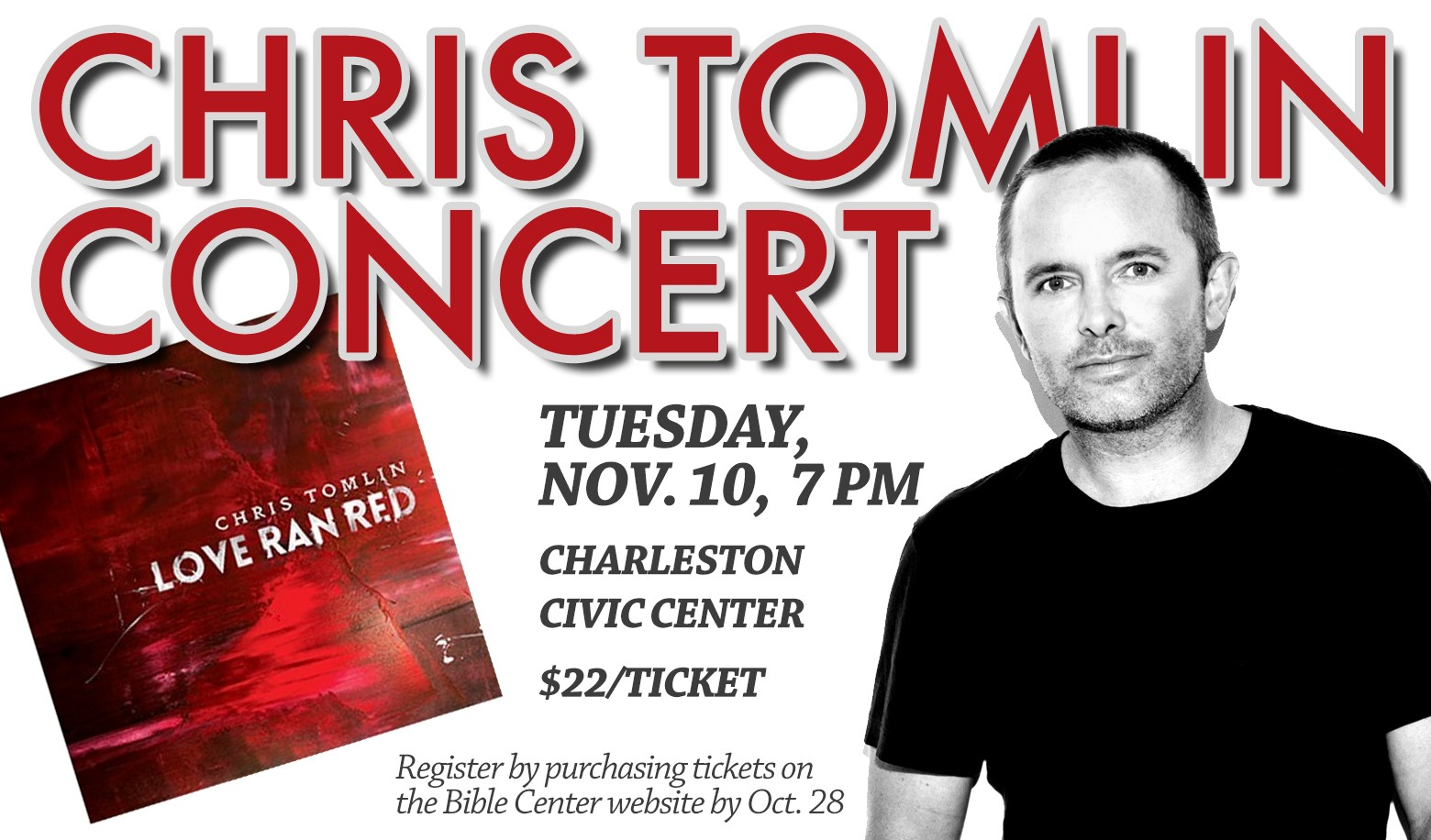 Student Ministry Chris Tomlin Concert
