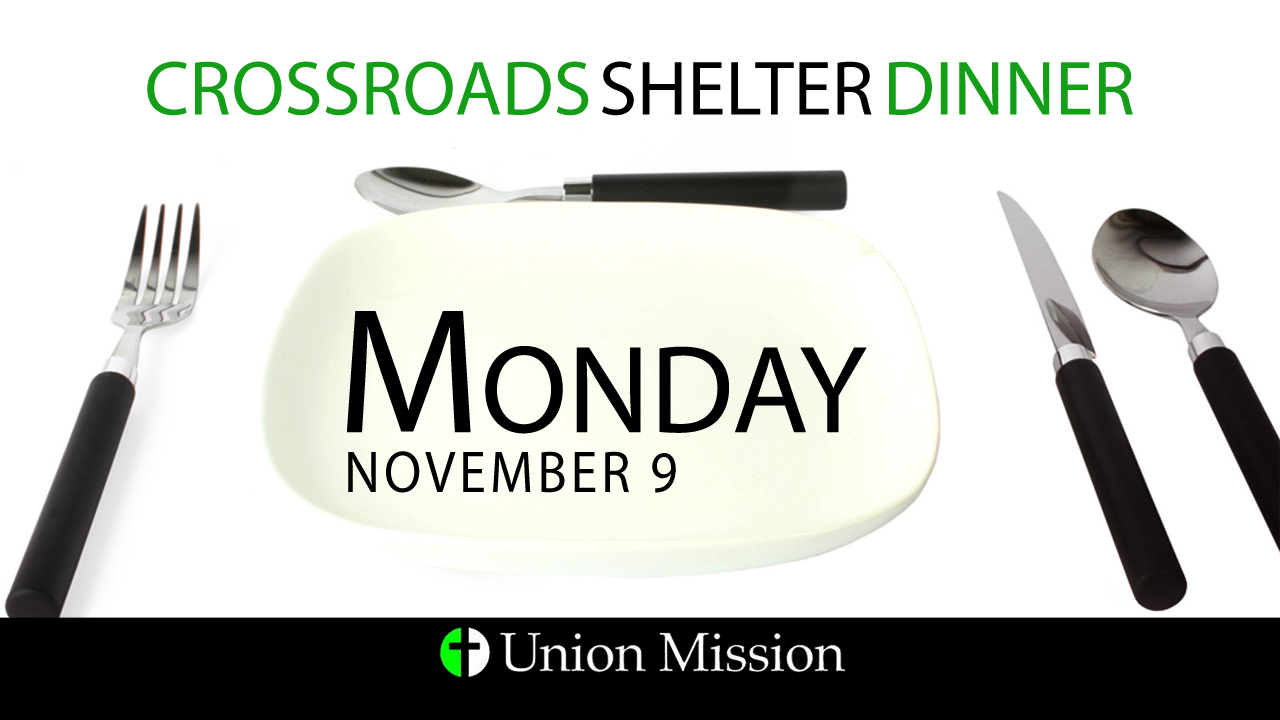 Food Needed for Crossroads (Nov. 9)