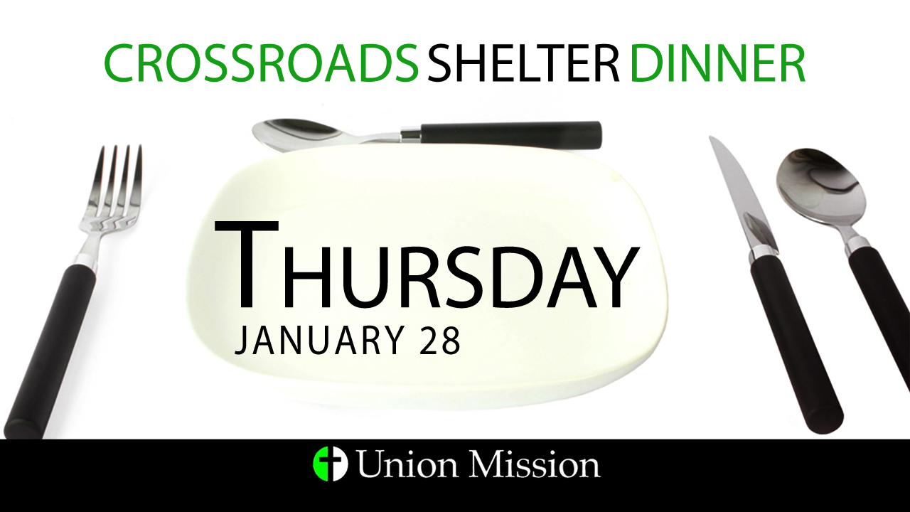 Food Needed for Crossroads (Jan. 28)