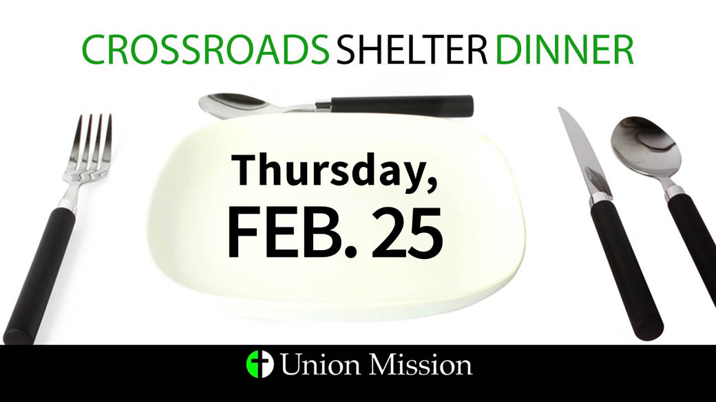 Food Needed for Crossroads (Feb. 25)