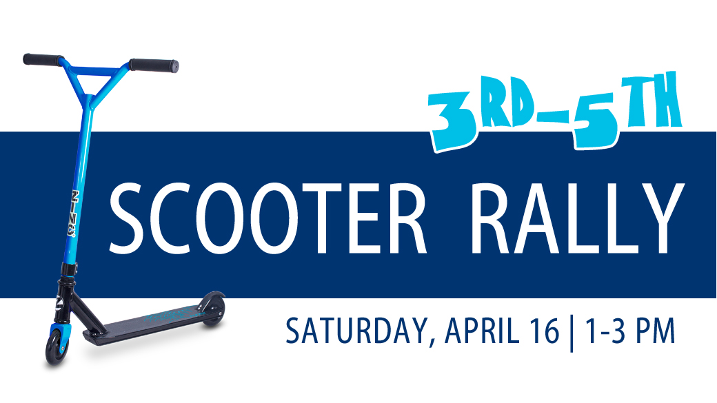 Scooter Rally (3rd-5th)