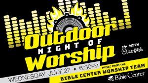 16 Outdoor Worship