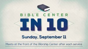 16 Bible Center in 10