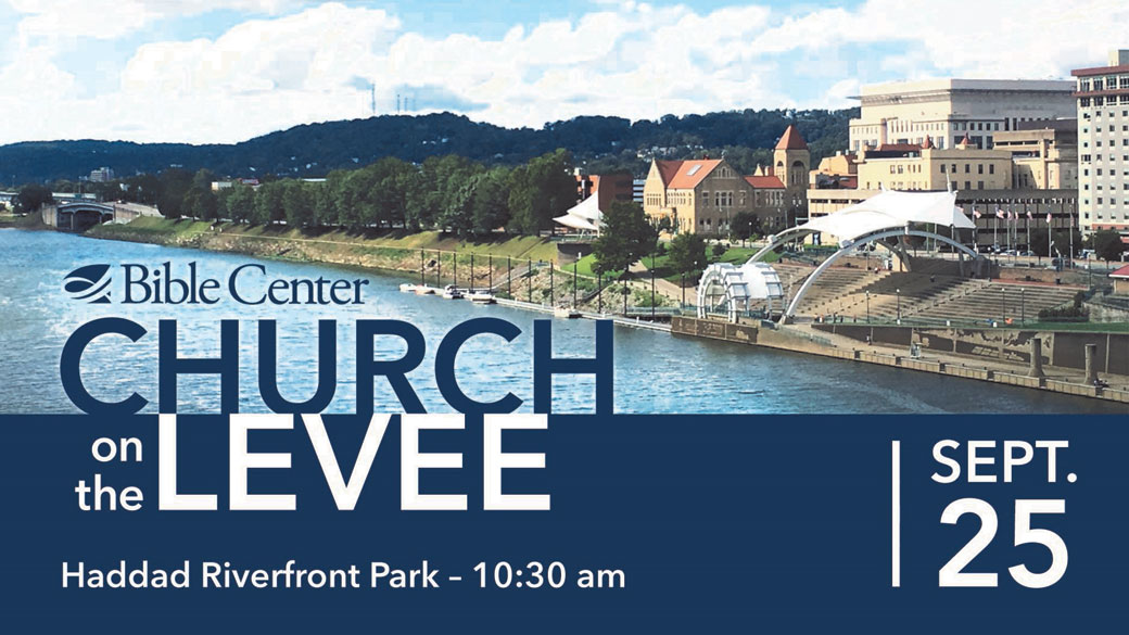 Save the Date: Church on the Levee