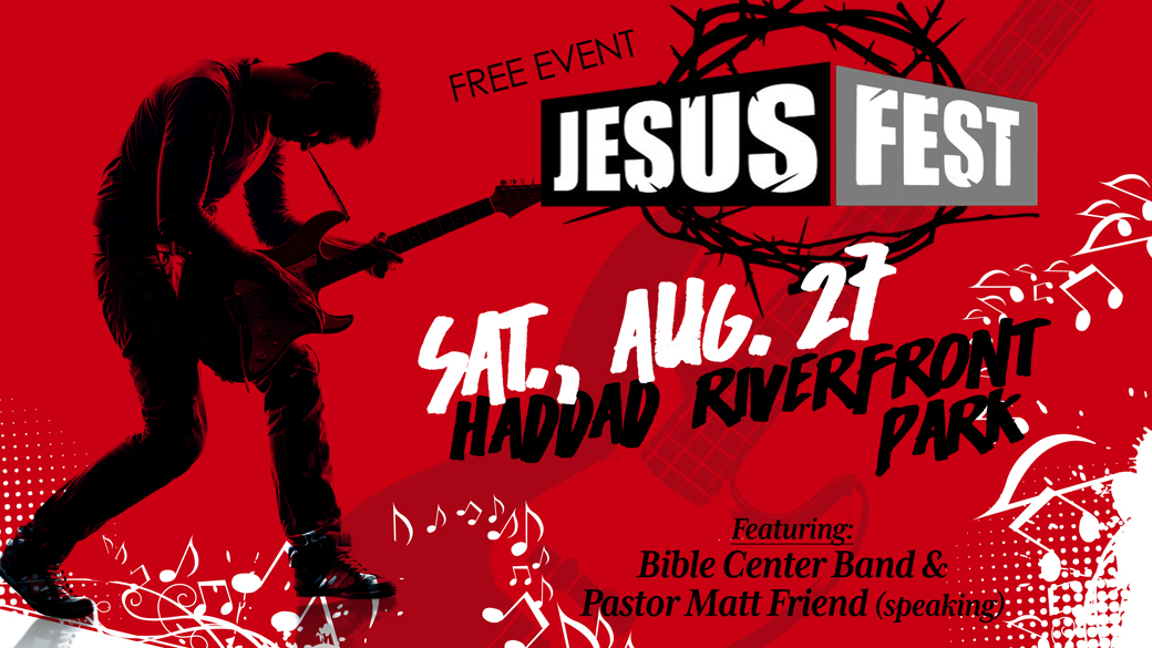 JesusFest at the Levee