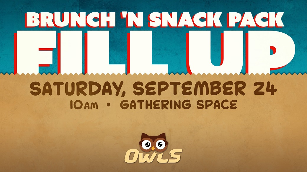 OWLS Brunch 'n Snack Pack Fill Up
