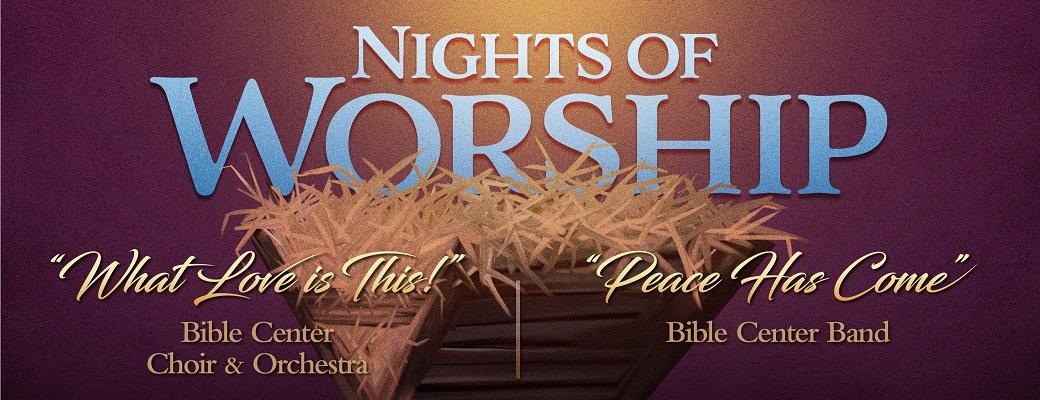 Christmas Nights of Worship