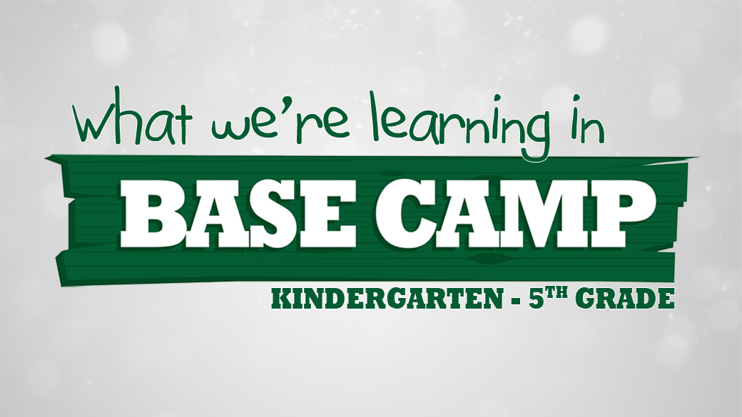BASE Camp: What we're learning in April