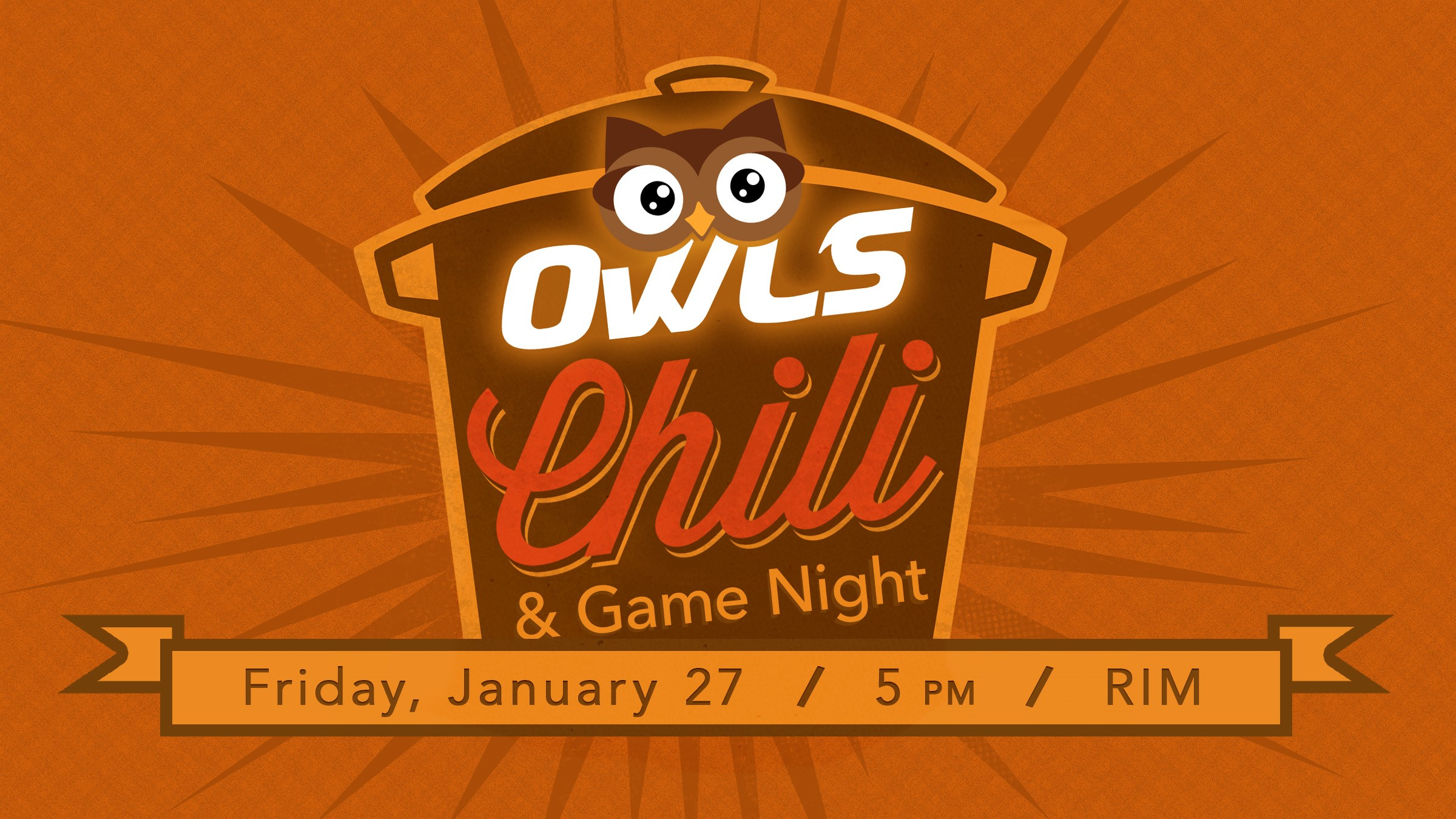 OWLS Chili & Game Night (Adults 55+)