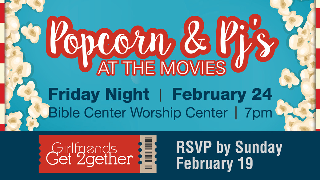 Popcorn & PJs Women's Event