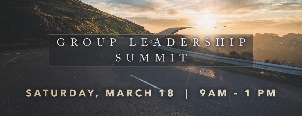 Group Leadership Summit