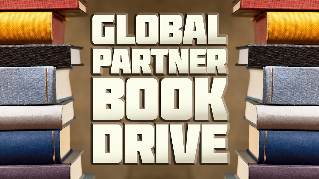 Book Drive for Global Partner