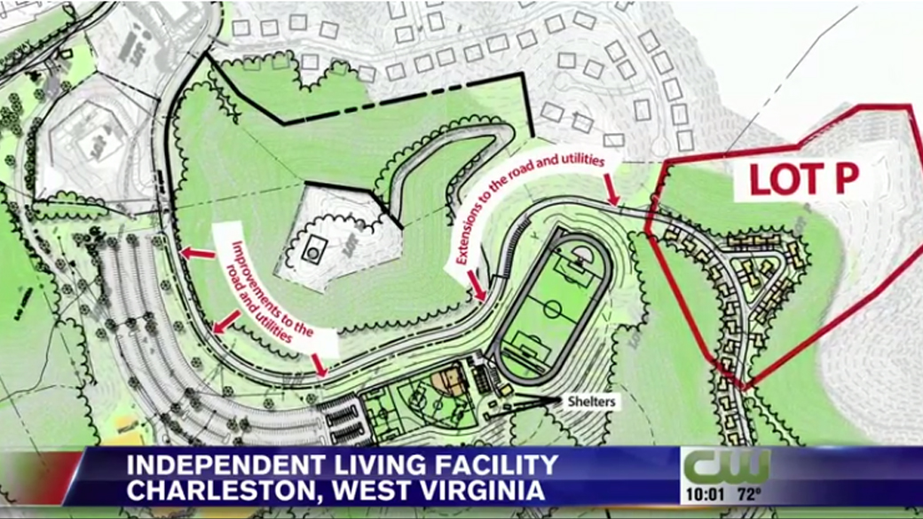 Independent living facility planned for land behind Bible Center Church