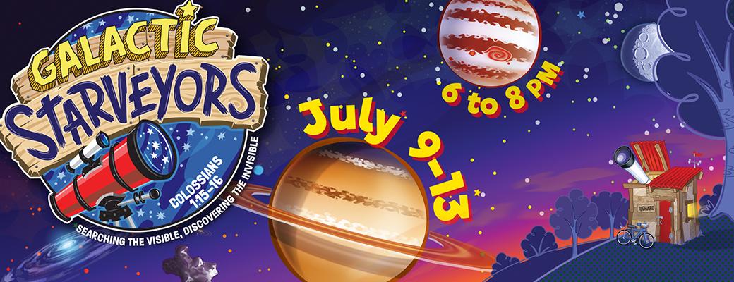 VBS 2017: Galactic Starveyors