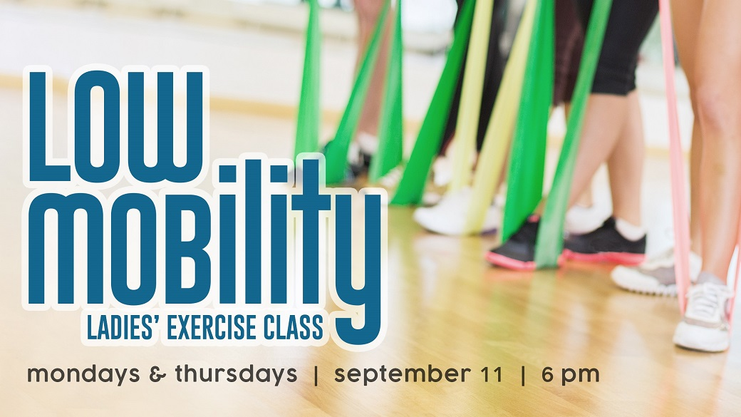 Ladies' Low Mobility Exercise Class