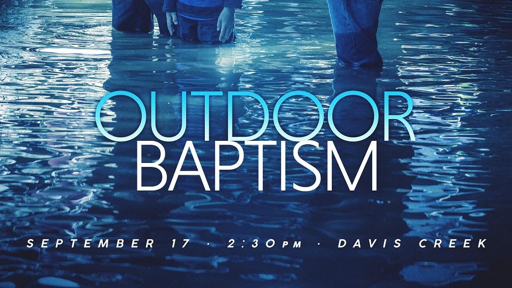 Baptism Class (August 21)