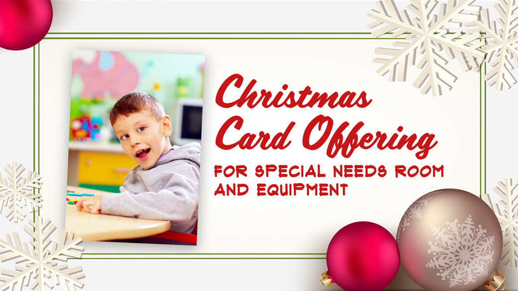 Christmas Card Offering