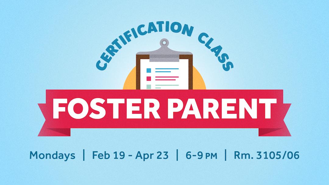 Foster Parent Certification Class