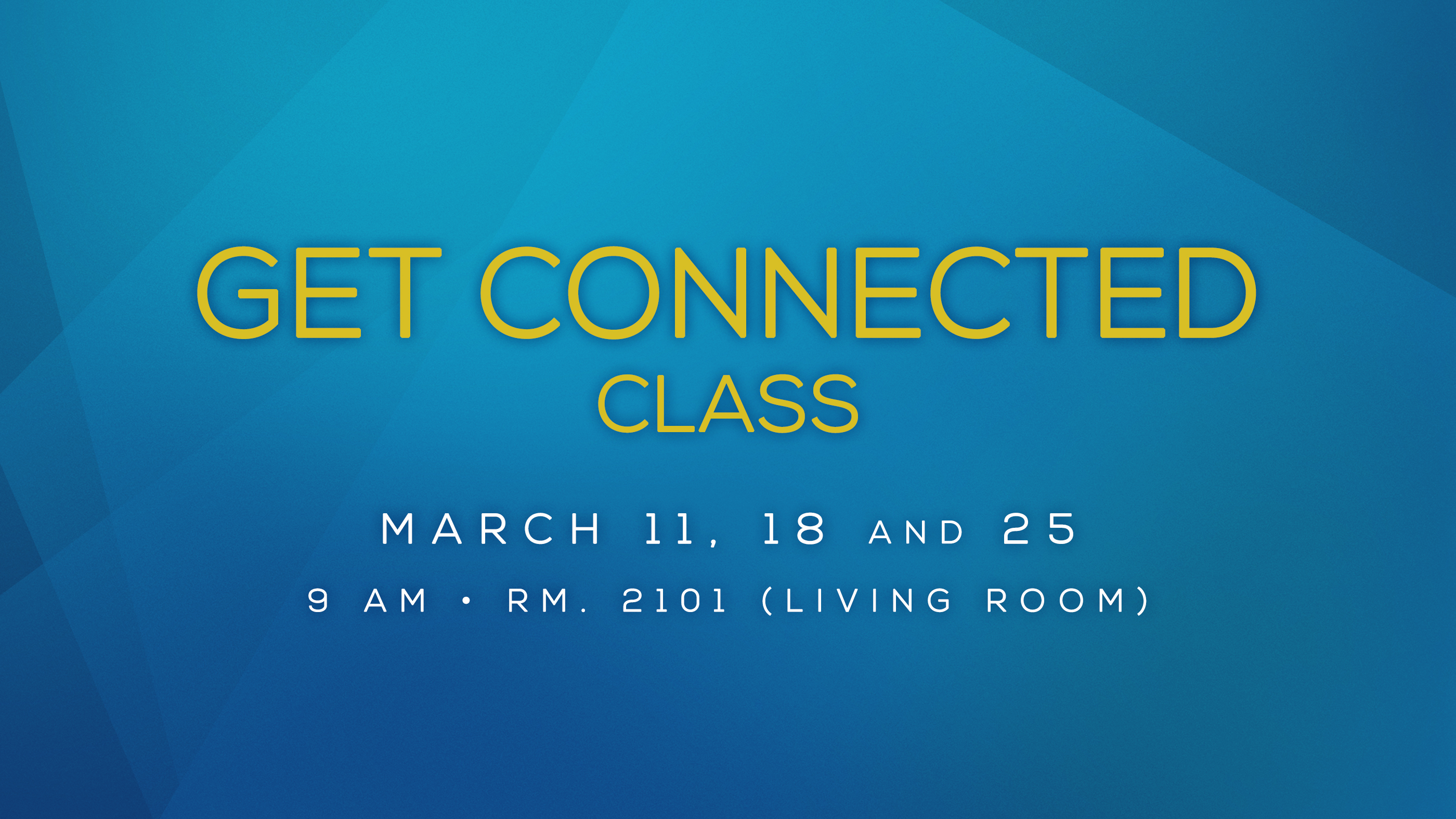 Get Connected Class